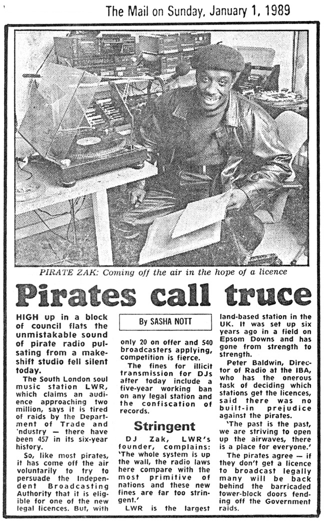 LWR-Cutting - The Mail On Sunday - 1-1-89
