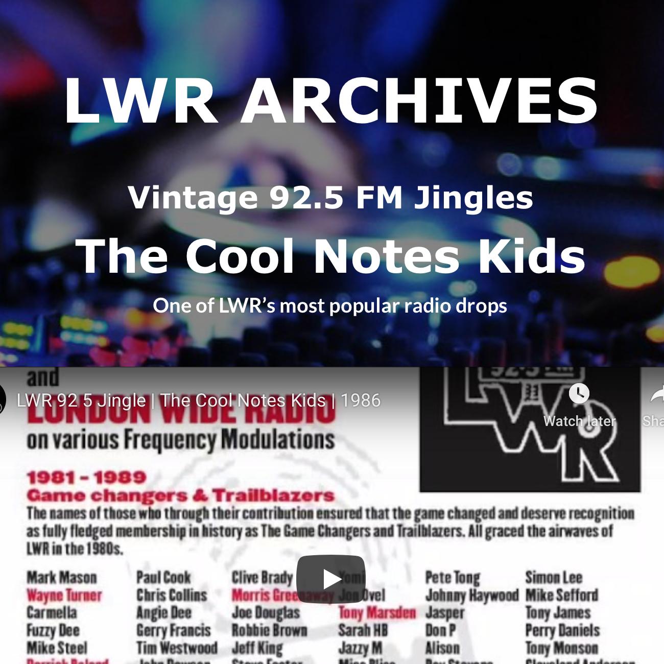 LWR Vintage Jingles - The Cool Notes Kids