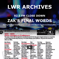 92.5FM close down - Zak's final words