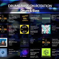 LWR Drum & Bass On Rotation